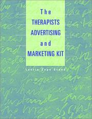 Cover of: The Therapist's Advertising and Marketing Kit