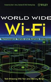 Cover of: Worldwide Wi-Fi