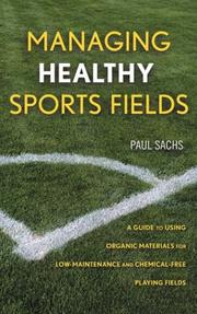 Cover of: Managing Healthy Sports Fields