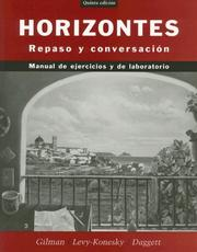 Cover of: Horizontes, Activities Manual