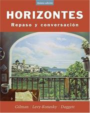Cover of: Horizontes