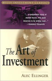 Cover of: The Art of Investment