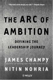 Cover of: The Arc of Ambition