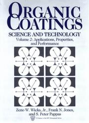 Cover of: Organic Coatings: Science and Technology, Volume 2