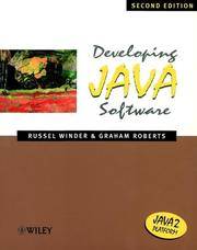 Cover of: Developing Java Software, 2nd Edition