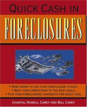 Cover of: Quick Cash in Foreclosures