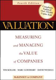 Cover of: Valuation