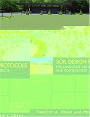 Cover of: Soil Design Protocols for Landscape Architects and Contractors