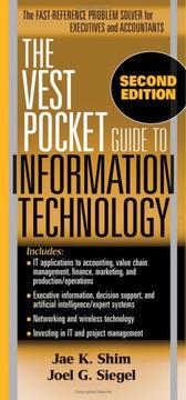 Cover of: The Vest Pocket Guide to Information Technology