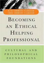 Cover of: Becoming an Ethical Helping Professional