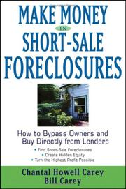 Cover of: Make Money in Short-Sale Foreclosures