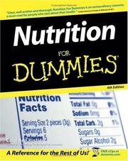 Cover of: Nutrition For Dummies (Nutrition for Dummies)