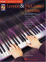 Cover of: Lennon and McCartney Favorites