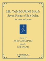 Cover of: Mr. Tambourine Man: Seven Poems of Bob Dylan: for Voice and Piano