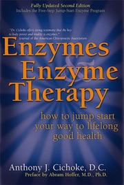 Cover of: Enzymes & Enzyme Therapy