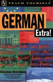 Cover of: German Extra! (Teach Yourself Books) (Teach Yourself)