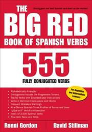 Cover of: The Big Red Book of Spanish Verbs