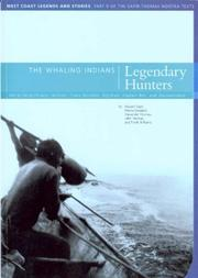 Cover of: The Whaling Indians Legendary Hunters (Mercury Series)