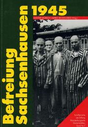 Cover of: Befreiung Sachsenhausen 1945