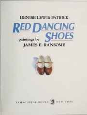 Cover of: Red dancing shoes