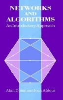 Cover of: Networks and Algorithms