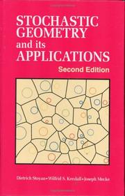 Cover of: Stochastic Geometry and Its Applications, 2nd Edition