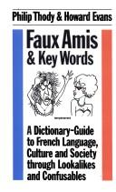 Cover of: Faux Amis and Key Words