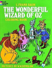 Cover of: The Wonderful Wizard of Oz Coloring Book