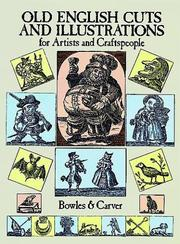 Cover of: Old English Cuts and Illustrations for Artists and Craftspeople