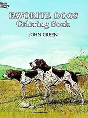 Cover of: Favorite Dogs Coloring Book
