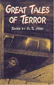 Cover of: Great Tales of Terror