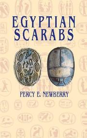 Cover of: Egyptian Scarabs