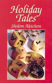 Cover of: Holiday Tales