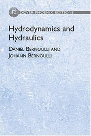 Cover of: Hydrodynamics and Hydraulics