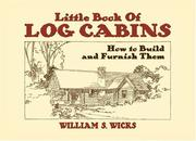 Cover of: Little Book of Log Cabins