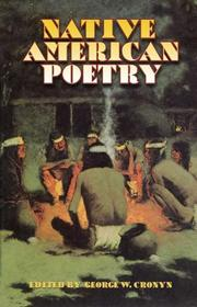 Cover of: Native American Poetry