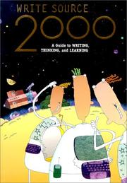Cover of: Write Source 2000