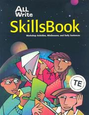 Cover of: All Write Skillsbook