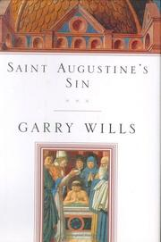 Cover of: Saint Augustine's Sin (Augustine, Confessiones. Bk. 3.)