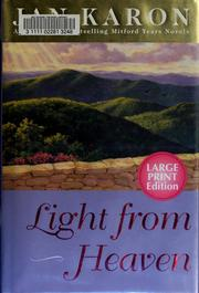 Cover of: Light from heaven