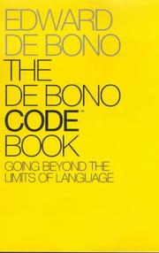 Cover of: The De Bono code book