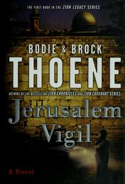 Cover of: Jerusalem Vigil (The Zion Legacy Series)