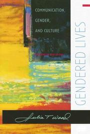 Cover of: Gendered Lives (Wadsworth Series in Communication Studies)