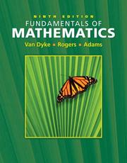 Cover of: Fundamentals of Mathematics (Ninth Edition with Interactive Video Skillbuilder CD-ROM )