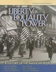 Cover of: Liberty, Equality, Power