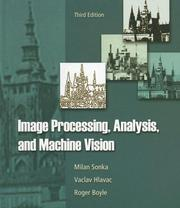 Cover of: Image Processing, Analysis, and Machine Vision