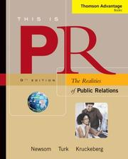 Cover of: Thomson Advantage Books: This is PR