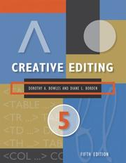 Cover of: Creative Editing
