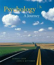 Cover of: Thomson Advantage Series: Psychology