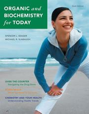 Cover of: Organic and Biochemistry for Today (with ThomsonNOW 2-Semester Printed Access Card)